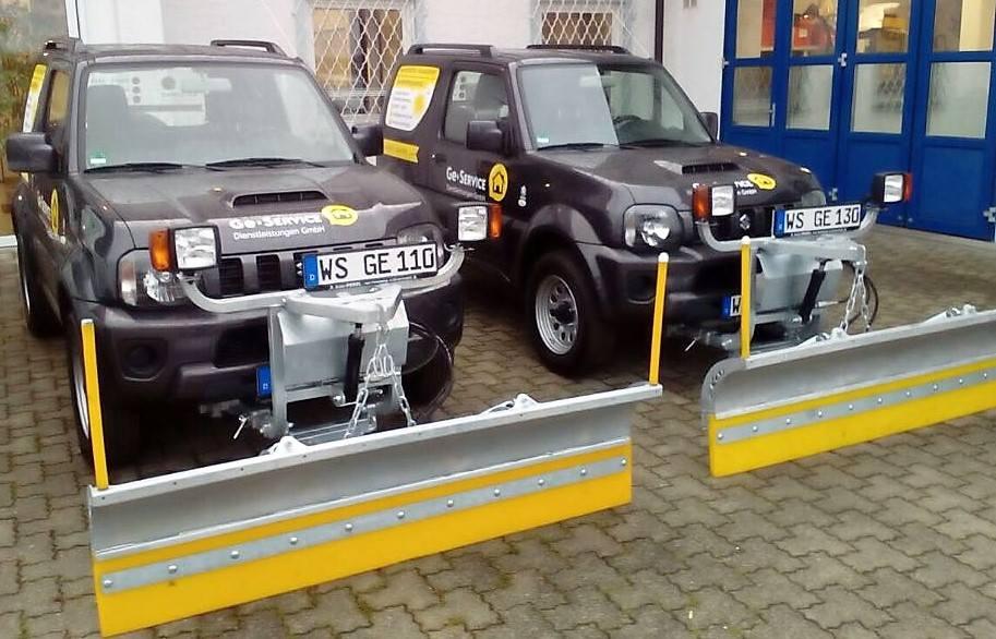 Ge-Service - neue Winterdienstfahrzeuge